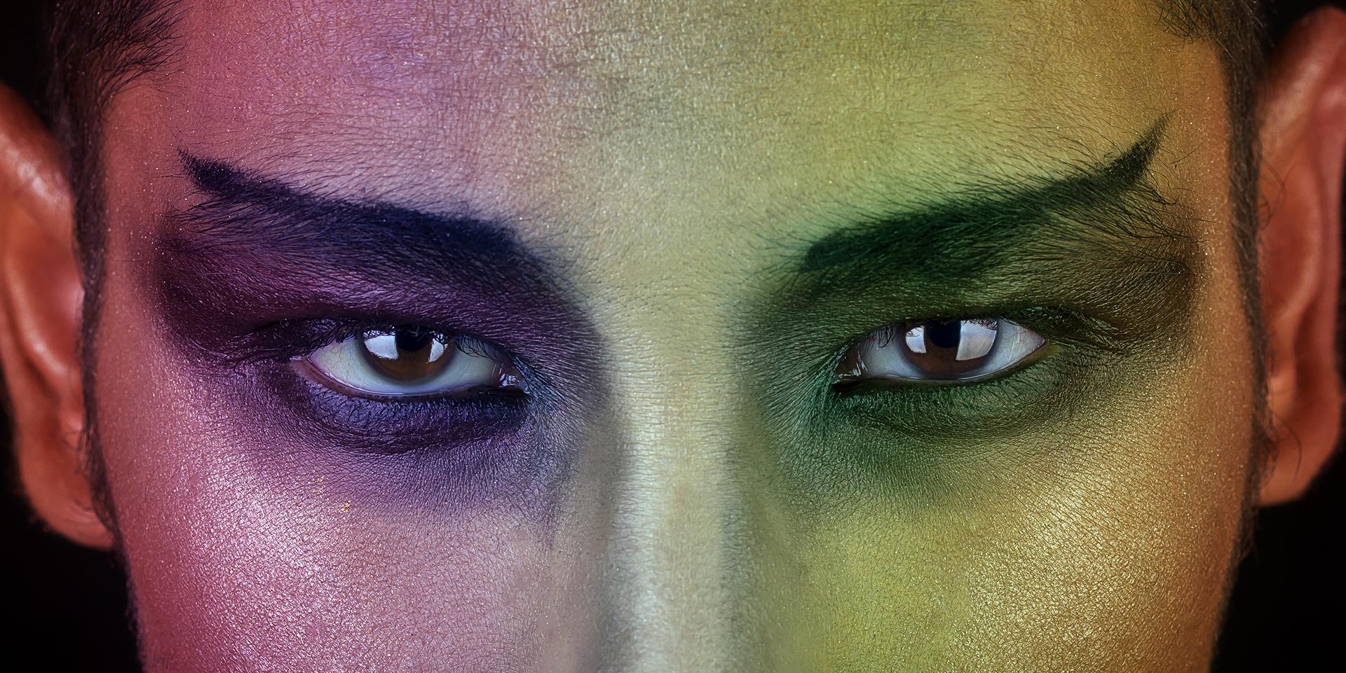 Face of Colors by Rick Wezenaar